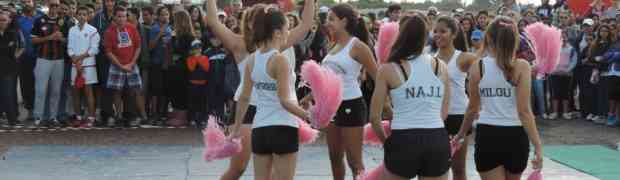 Les  pom pom girls du LFA à l'honneur!