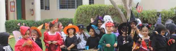 Fête d'Halloween des Maternelles