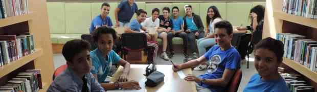 Blue Shirt Day : débat animé à la Médiathèque