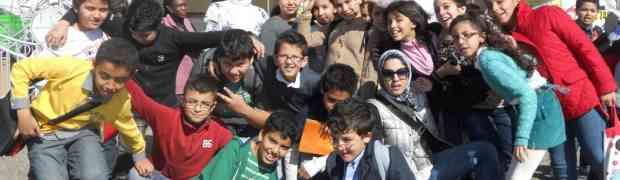 L'école du Lycée Français d'Agadir fait son cirque...