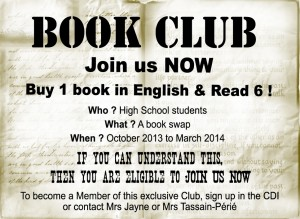 book swap poster 2013