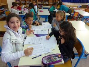 Les élèves de cm1