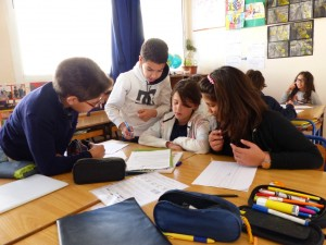 Les élèves de cm2
