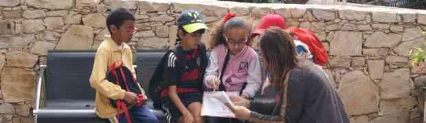 Le CE1B à la découverte du centre-ville d'Agadir