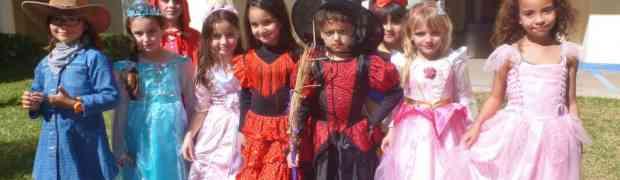 Le carnaval des classes de CP en février.