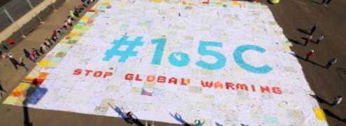 COP22 : la mosaïque géante à laquelle nos élèves ont participé
