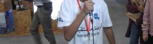 زيارة تلاميذ السنة الخامسة لقمة المناخ بمراكش