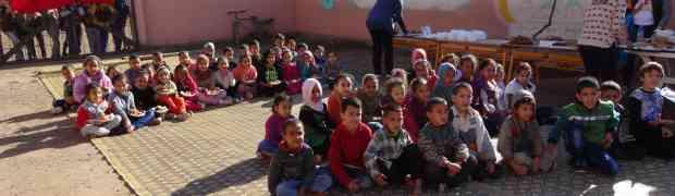 Les CE1 C et CE1 D rencontrent les élèves d'une école de Temsia