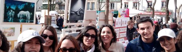 HDBMUN Paris 2017: J2 visite guidée du quartier Montmartre