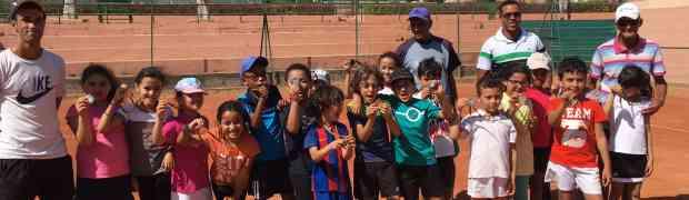 Initiation au tennis pour les CE1 D