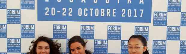 Participation au Forum Euro-méditerranéen des Jeunes Leaders 2017
