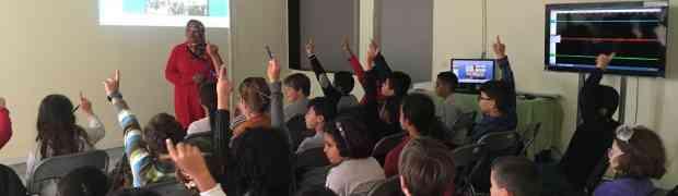 Les CM1 visitent le Centre de Sismographie d'Agadir