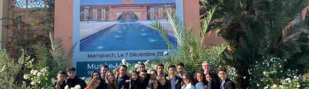 Les élèves de 1ère Spécialité SES :  des négociateurs remarqués à la Journée de simulation sur  le climat de Marrakech