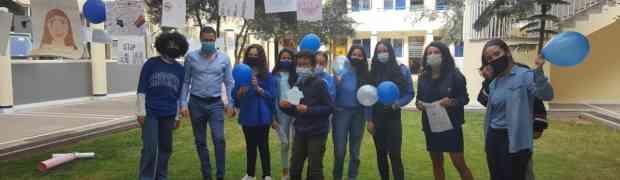 Blue Shirt Day - journée anti-harcèlement
